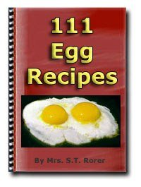 111 egg recipes + resell rights