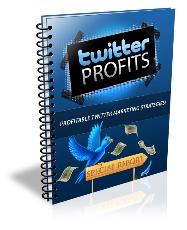 Twitter Profits / money making business eBook + resell rights