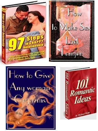 SEX, LOVE & ROMANCE 4 EBOOKS PACKAGE + RESELL RIGHTS