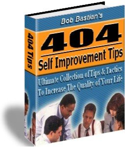 404 Self Improvement Tips / money making business eBook+ resell rights