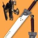Zack Big Cloud Buster Sword 57'' Final Fantasy