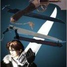 Final Fantasy Functional Gunblade Revolver Sword