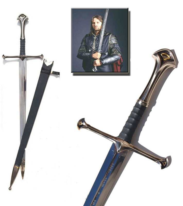 Anduril Narsil Sword from The Lord of the Rings