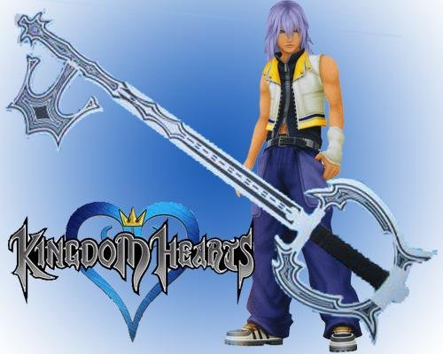 Kingdom Heart Oblivion Key Blade Sword
