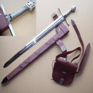 Robin Hood Sword With Scabbard + bag + belt