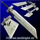 Multiblade Advent Children Buster Sword 44'' Final Fantasy Free Shipping