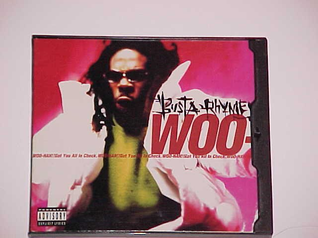 (SOLD in lot) Woo Hah Got You All in Check [CD Single] by Busta Rhymes (CD, Feb-1996, Elektra)