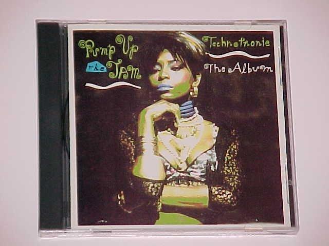Pump Up the Jam: The Album by Technotronic (CD, Nov-1989, SBK Records)