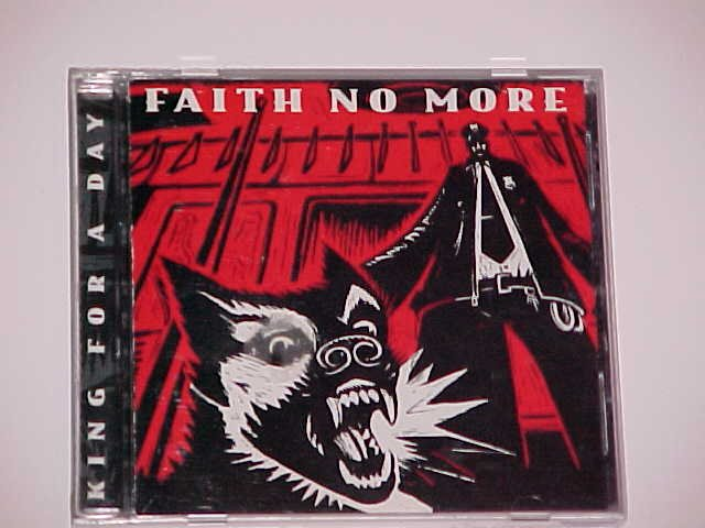 (SOLD in lot) King for a Day, Fool for a Lifetime [PA] by Faith No More (CD,1995, Slash/Reprise)