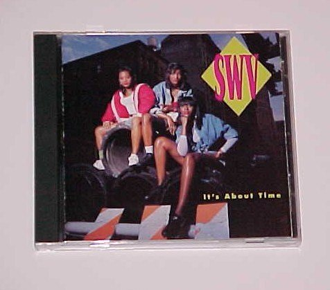 (SOLD in a lot) It's About Time by SWV (CD, Oct-1992, RCA)