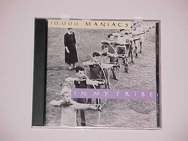 (SOLD in a lot on ebay) In My Tribe by 10,000 Maniacs (CD, October 1990, Elektra)