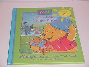 Disney's Out & About With Pooh: Rain Rain, Come Again Vol 14 by Ronald Kidd (1996, Hardcover)
