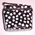 Black & White Lancome Cosmetic Bag
