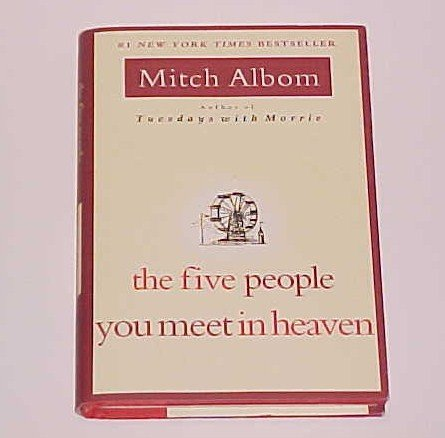 (SOLD) The Five People You Meet in Heaven by Mitch Albom (2003, Hardcover)