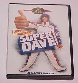 The Extreme Adventures of Super Dave (DVD, 2000)