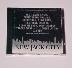 New Jack City [PA] Original Soundtrack (CD, Mar-1991, Giant (USA))