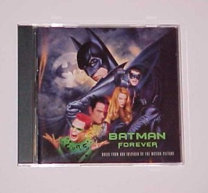 Batman Forever Original Soundtrack (CD, Jun-1995, Atlantic)
