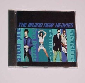 Excursions, Remixes, Rare Grooves & More by The Brand New Heavies (CD, 1996, Delicious Vinyl (USA))