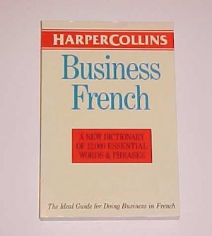 Harpercollins Business French (1992, Paperback)