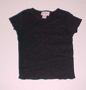 Black Knit Top Energie Size Small Juniors