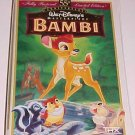 Bambi (VHS) Limited Anniversary Edition, Restored, 55th Anniversary