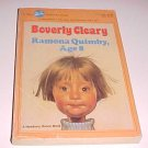 Ramona Quimby, Age 8 by Beverly Cleary (1984, Paperback)
