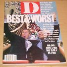 D Magazine (Dallas Ft Worth) January 2001 Best & Worst Issue