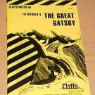Cliffsnotes Fitzgerald's The Great Gatsby  (1990, Paperback, Revised)