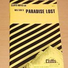 Cliffsnotes Milton's Paradise Lost  (1970, Paperback, Revised)