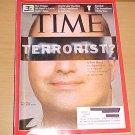 Time Magazine November 23 2009 Major Nidal Malik Hasan