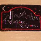 Vintage New York New York Big Apple Decal Sticker