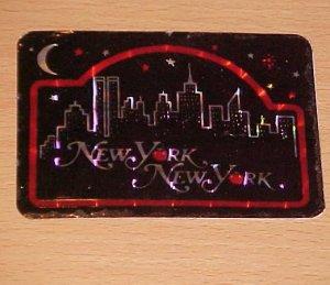 Vintage New York New York Big Apple Decal Sticker