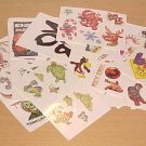 Lot of Random Vintage Temporary Tattoos