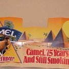 Vintage 75th Anniversary Joe Camel Car Auto Windshield Sun Shade