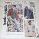 Vintage 1992 Easy McCalls 6103 Jackets Size B 8, 10, 12 Uncut