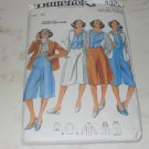 Vtg 1970s Butterick 5336 Culottes Vest Rena Rowan Jones New York Sz 10 Uncut