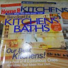 (Charity) Lot of 3 House Beautiful Kichens Baths Magazines March/April 2005 May/June 2005