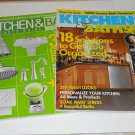 Lot of 2 Kitchen Bath Magazines Better Homes & Gardens & Woman's Day 2005