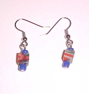 Mini Cube Millefiori Earrings by Island Junkee