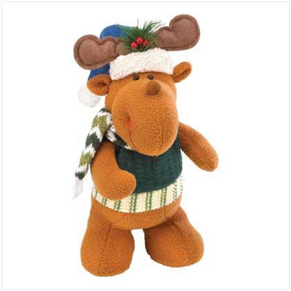 Stand-up Moose Plush Pal