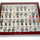 40 Watch (Premium Series) 1 Level Rosewood Display Storage Case Box + Cloth