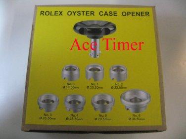 Complete Rolex Case Opener includes 36.5mm deepsea die