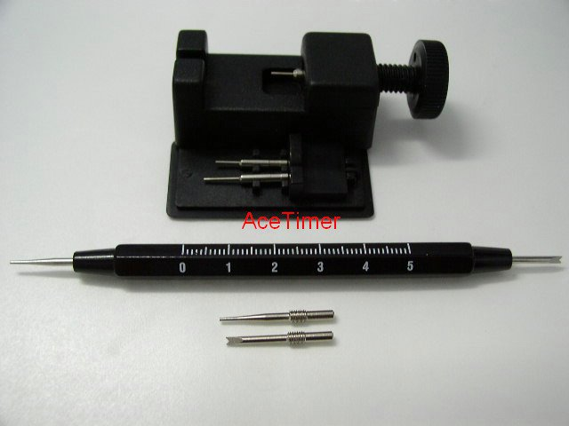 Watch Band Adjuster + Sprin Bar Tool for Strap Band