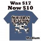 Skull T-shirt (Dark Blue) Size: Medium