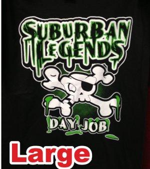 Green Skull T-shirt Size: Large