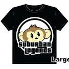 Monkey T-shirt Size: Large