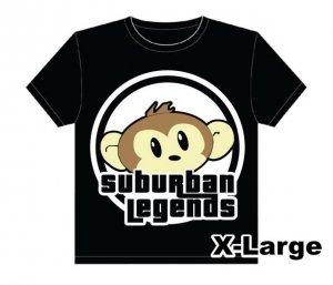 Monkey T-shirt Size: X-Large