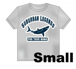 College Shark T-Shirt Size: Small
