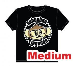 Hipster Monkey T-shirt Size: Medium