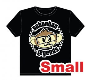 Hipster Monkey T-shirt Size: Small